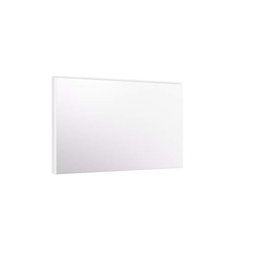 ETHERMA LAVA® BASIC-DM Infrarotheizung für Decke und Wand, 500 W, 62 x 90 x 2,2 cm, Strukturierte Oberfläche aus Stahlblech, Made in Austria, TÜV, 5 Jahre Garantie, Farbe: reinweiß, LAVA-BASIC-500DM