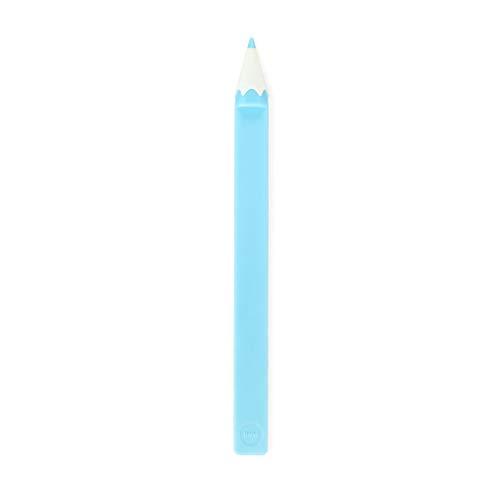 Balvi Segnalibro Color Pencil Colore Blu Matita Colorata a Forma di Regalo Divertente per i Lettori e Gli Studenti Nylon/plastica 15 cm