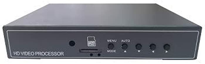 EVERFOCUS EP4CQFHD 4 Channel Full HD Quad Processor Multi-Video Format DVR, NO HDD Included