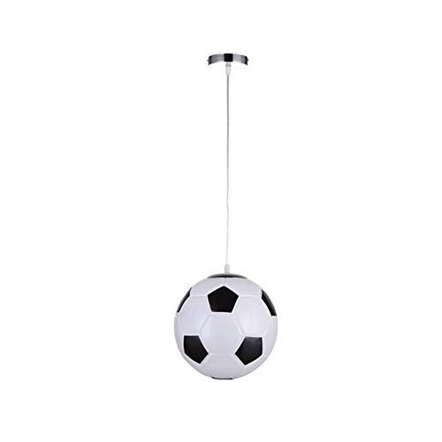 Lámpara Infantil de Techo Dormitorio, Plafón LED Techo Moderno Estilo de Fútbol, Lámparas de Techo Colgantes Iluminación Interior para Dormitorio Salón, Diseñada para los fans de fútbol, E27, 220V