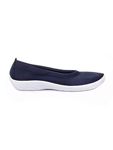 Avena Damen Hallux-Soft-Slipper Sommerleicht Blau Gr. 39
