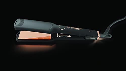 Kiepe Professional Pure Rose Gold Piastra Misura L Display digitale - Lamelle in Titanio 90x38mm