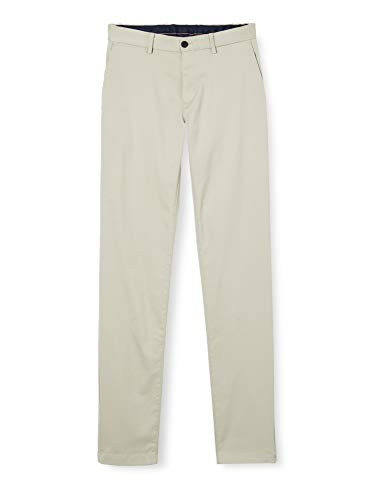 Tommy Hilfiger Uomo Tapered Tech Stretch Twill Flex-MW0MW13291 Loose Fit Jeans, Beige (Light Stone AEQ), W33/L30