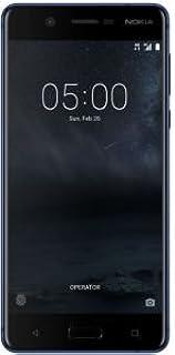 هاتف نوكيا 5 ثنائي شرائح الاتصال بذاكرة رام 2 جيجا وشبكة الجيل الرابع ال تي اي 16 GB Nokia 5