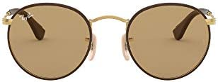 Ray-Ban RB3475Q Round Craft Men's Sunglasses
