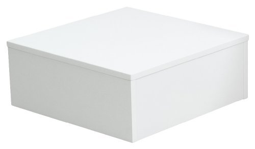 Ladeneinrichtung Warenträger Sockel Podest weiß (L: 50cm, H: 50cm, T: 20cm)