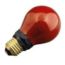 Preisvergleich Produktbild Impact PF712E. Rote Birne,  für den Einsatz in der Fotografie (Dunkelkammerlicht). 220-240v 15w e27.