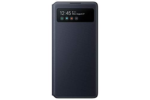 SAMSUNG S View Wallet Cover for S10 Lite (R5) (2020), Nero