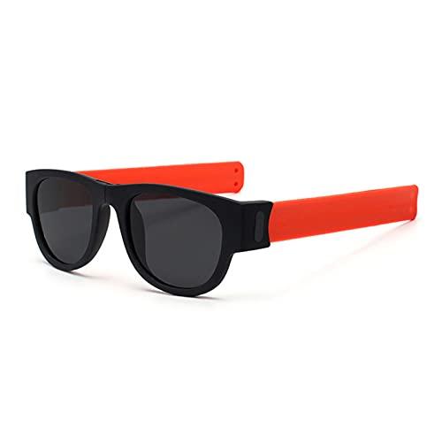 YFAX, Pulsera Plegable de Gafas de Sol, Brazalete de Gafas de Sol, con Paquete UV400 1-C5