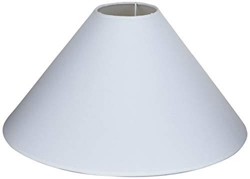 Better & Best 40 Lampenschirm aus Baumwolle, rund, chinesisch, 40 cm, Weiß