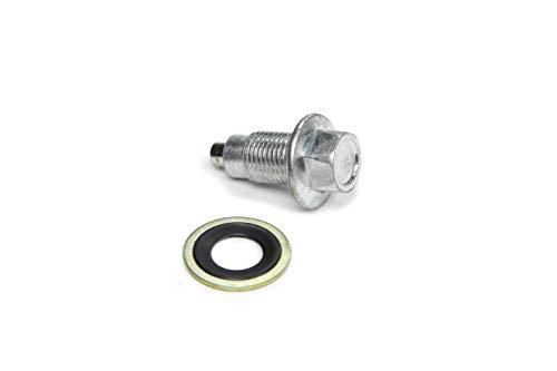 Derale 14000 Magnetic Drain Plug Kit,Black
