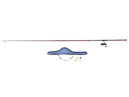 Crivit Angelkomplettset Angel Set Allrounder Ultimate Catch Allround 360-4 für Fische Süß- und Salzwasser