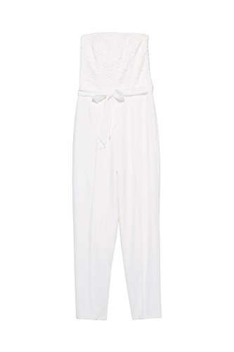 ESPRIT Collection Damen Jumpsuit, Weiß - 3