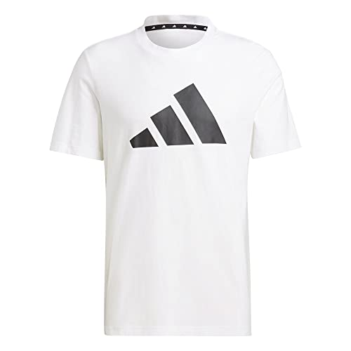 adidas M FI Tee BOS A, T-Shirt Homme, White, S
