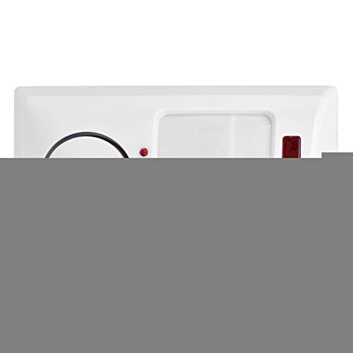 Fournyaa Alarm Sicherheitsdetektor, 105 dB Weiß Hochwertiger Einstellbarer Infrarot-Bewegungssensor, Home Shop Backyard Office