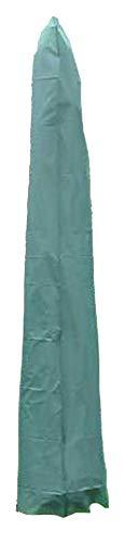 Land-Haus-Shop Parasolhoes polyester tot 2,20 m scherm, bescherming tegen de zon groen