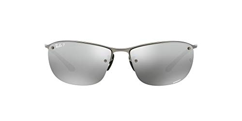 Ray-Ban Herren Rb 3542 Brillengestelle, Grau (Matte Gunmetal), 63