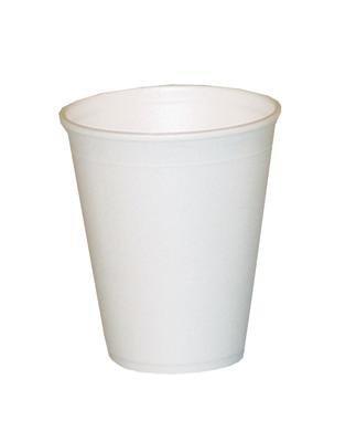 Gobelet isotherme styroporbecher lot de 1000 gobelets 0,2 l glühwein thé 200 ml blanc