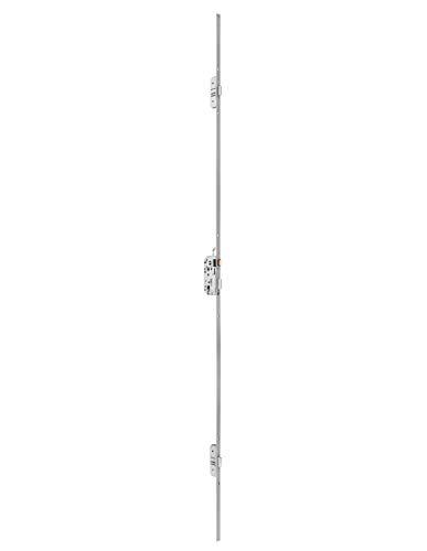 THIRARD - Serrure à larder 3 pts Trimax pênes rectangulaires têtière 2040x18mm s/s gâche - 619