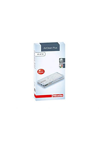 Miele Original Zubehör SF AP 50 AirClean Plus Filter / für besonders saubere Raumluft / sicherer Staubeinschluss / 1 Filter / für Staubsauger