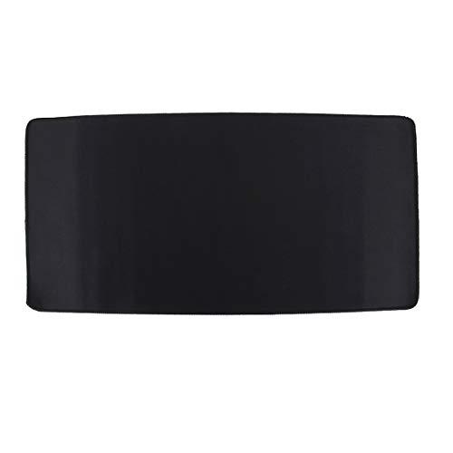 subtel XXL Mauspad, 60 x 30 cm, schwarz, als Schreibtischunterlage für PC, Computer, Laptop - z. B. für Gaming, Grafikdesign | Mausmatte Mouse mat Tastatur Unterlage