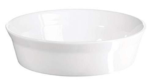 ASA 52012017 Plat à gratin en Porcelaine 20 x 20 x 5 cm, Blanc