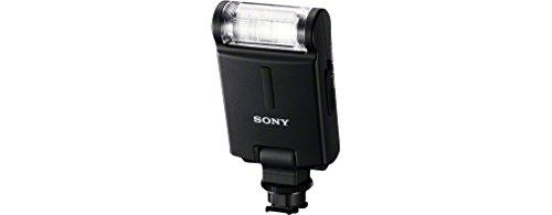 Sony HVL-F20M Kompaktblitz (Leitzahl 20-50mm Objektiv, ISO 100 für Multi-Interface Zubehörschuhsystem) & LCS-AMB Kameratasche für Sony Alpha-Kamera