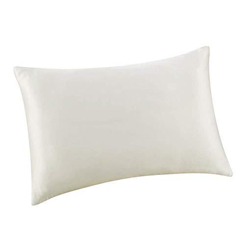 Funda de almohada de seda de morera de ambos lados con cremallera, funda de almohada estándar, multicolor