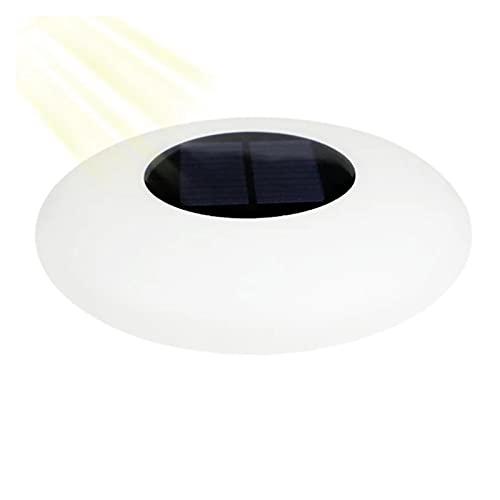 ASPZQ Solar Schwimmbad Licht Romantisches Partydekor Im Freien Bunt Solarbetrieben Wasserdichtes Schwimmendes LED-Nachtlicht Yard Garden Pool Teichlampe (Color : RGB, Size : 25X25XH7CM)
