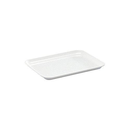 WACA® 1304-710 Auslageplatte Präsentationsplatte 24x18x1,7 cm weiß