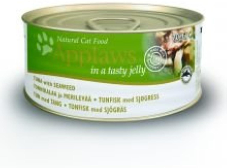 MPM PRODUC Applaws Cat Tin Tuna & Seaweed 70g pack of 24