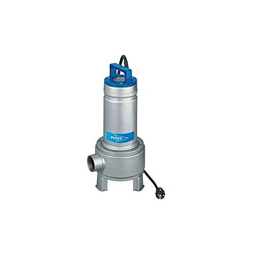 Flygt - Bomba de elevación Delinox DXVM5011SG 1,1 kW Agua usada con rueda Vortex hasta 36 m3/h monofásica 220 V