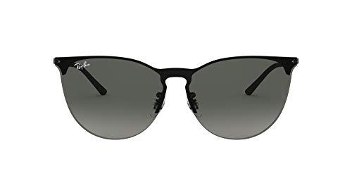 Ray-Ban 0RB3652 Gafas de sol, Rubber Black, 40 Unisex