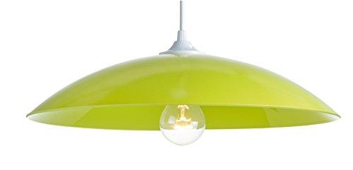 Pendelleuchte Mondo Colors, Glas,75W, grün, ø 40 x H 12 cm