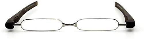 BECCYYLY Gafas de Lectura 360 de Tubo rotatorio Pen Clip Plegable Gafas...