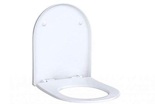 Keramag Geberit Acanto WC-Sitz mit Absenkautomatik Quick Release, antibakteriell, 500605012