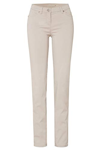 Toni Dress Damen Hose Perfect Shape Slim Stone beige - 19