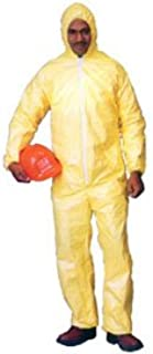 Tyvek QC Coveralls, Sewn and Bound Seams with Hood, Elastic Wrists and Ankles (12 per case) - Size 3X-Large