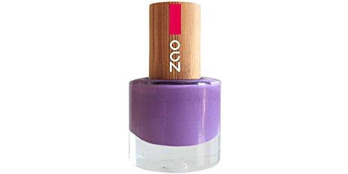 ZAO Nagellack 652 flieder lila mit Bambus-Deckel (7-free, vegan) zartlila hell-lila pastell violett