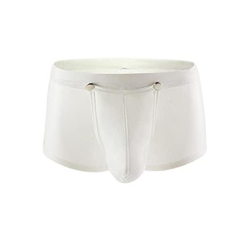 JFSFAS Unterhosen Herren Herren Unterhosen lang Baumwolle Boxershorts Herren 12 Pack Herren badeslip weiß sexy Panties schwarzes Tshirt Herren XXL