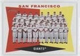San Francisco Giants Team (Baseball Card) 2009 Topps Heritage - [Base] #151