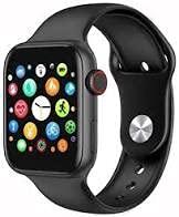 Pulsera de Actividad Inteligente, Reloj Inteligente para Hombres y Mujeres, Reloj Deportivo, Monitor del Ritmo cardiaco, calorías, podómetro, Monitor de sueño en Negro.