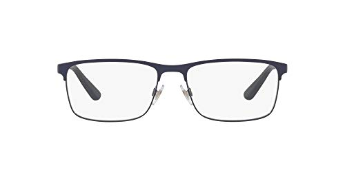 Ralph Lauren POLO 0PH1190 Monturas de gafas, Matte Navy Blue, 54 para Hombre