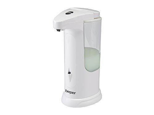 BEPER Dispenser Automatico Sapone e Gel igienizzante, Bianco, Piccolo
