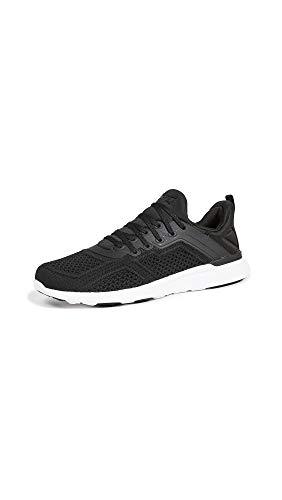 APL: Athletic Propulsion Labs Women's Techloom Tracer Sneakers, Black/White, 9 Medium US
