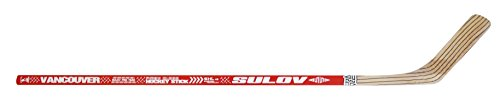 SULOV Eishockeyschläger Vancouver links Kurve, rot, 115cm