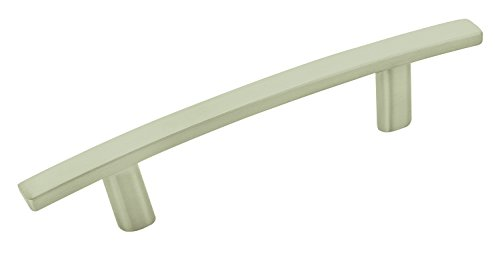 Cyprus 3 in (76 mm) Center-to-Center Satin Nickel Cabinet Pull - 10 Pack - 10BX26201G10