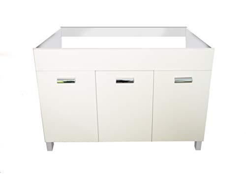 Mabel srl Mobile sottolavello 3 Ante 120 cm Colore Bianco