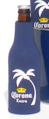 Corona Extra Neoprene Bottle Suits - Friday   Beer Bottle Huggie Coolie - Set of 2