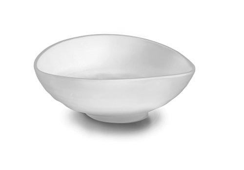 LACOR-Plat Ovale en Mélamine 24 x 20 x 7 cm Blanc